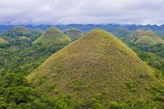 Λόφοι σοκολάτας, Bohol στοκ φωτογραφία με δικαίωμα ελεύθερης χρήσης