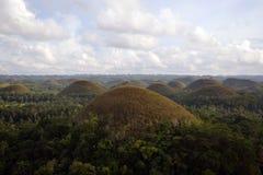 Λόφοι σοκολάτας στις Φιλιππίνες Στοκ φωτογραφία με δικαίωμα ελεύθερης χρήσης