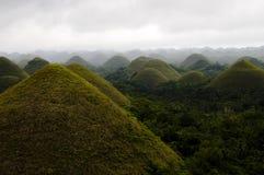 Λόφοι σοκολάτας - Φιλιππίνες Στοκ Φωτογραφίες