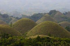 Λόφοι σοκολάτας - Φιλιππίνες Στοκ φωτογραφία με δικαίωμα ελεύθερης χρήσης