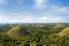 Λόφοι σοκολάτας, Bohol - Φιλιππίνες Στοκ φωτογραφίες με δικαίωμα ελεύθερης χρήσης