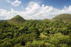 Λόφοι σοκολάτας, Bohol - Φιλιππίνες Στοκ φωτογραφία με δικαίωμα ελεύθερης χρήσης