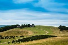 Λόφοι της Βιρτζίνια Στοκ φωτογραφία με δικαίωμα ελεύθερης χρήσης