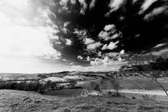 Λόφοι της Τοσκάνης στοκ φωτογραφία με δικαίωμα ελεύθερης χρήσης