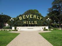 λόφοι της Beverly Στοκ εικόνα με δικαίωμα ελεύθερης χρήσης