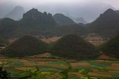 Λόφοι του Βιετνάμ πυλών ουρανού ` s στοκ φωτογραφίες με δικαίωμα ελεύθερης χρήσης
