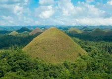 λόφοι Φιλιππίνες σοκολά&ta Στοκ εικόνα με δικαίωμα ελεύθερης χρήσης