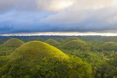 Λόφοι Φιλιππίνες σοκολάτας Στοκ φωτογραφία με δικαίωμα ελεύθερης χρήσης