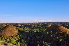 Λόφοι Bohol Φιλιππίνες σοκολάτας Στοκ φωτογραφία με δικαίωμα ελεύθερης χρήσης