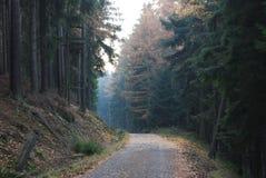 Λόφοι Brdy στοκ φωτογραφία με δικαίωμα ελεύθερης χρήσης