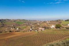 Λόφοι Cesena στοκ φωτογραφίες με δικαίωμα ελεύθερης χρήσης