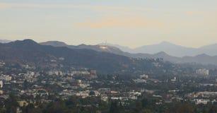 Λόφοι Hollywood στοκ φωτογραφία με δικαίωμα ελεύθερης χρήσης