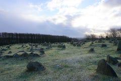 Λόφοι Lindholm Στοκ εικόνες με δικαίωμα ελεύθερης χρήσης
