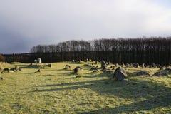 Λόφοι Lindholm Στοκ Εικόνες