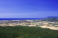 λόφοι tuscan επαρχίας Στοκ εικόνες με δικαίωμα ελεύθερης χρήσης