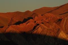 Λόφος επτά χρώματος Στοκ Εικόνες