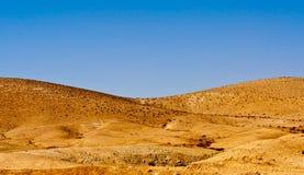 λόφος ερήμων Στοκ Φωτογραφία