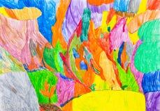 Λόφος θερινού αερακιού Στοκ Εικόνες