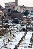 λόφος Ρωμαίος φόρουμ capitoline που φαίνεται στοκ φωτογραφία με δικαίωμα ελεύθερης χρήσης