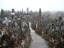 λόφος σταυρών Στοκ Εικόνα