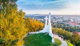 Λόφος τριών σταυρών σε Vilnius στοκ εικόνες με δικαίωμα ελεύθερης χρήσης