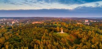 Λόφος τριών σταυρών σε Vilnius στοκ φωτογραφία με δικαίωμα ελεύθερης χρήσης