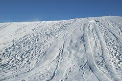 λόφος χιονώδης Στοκ φωτογραφίες με δικαίωμα ελεύθερης χρήσης