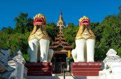 Λόφος Sagaing, το Μιανμάρ στοκ φωτογραφία