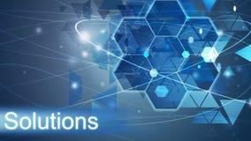 Λύσεις, επιχειρησιακό υπόβαθρο ελεύθερη απεικόνιση δικαιώματος
