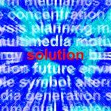 Λύση Word που παρουσιάζει στο επίτευγμα επιτυχίας τρισδιάστατη απόδοση ελεύθερη απεικόνιση δικαιώματος