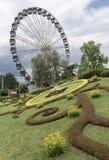 """Λ """"horloge fleurie, ή το ρολόι λουλουδιών, Γενεύη στοκ φωτογραφίες"""