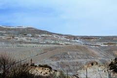 λ andscape με τη βλάστηση ερήμων Στοκ φωτογραφία με δικαίωμα ελεύθερης χρήσης