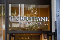 Λ Occitane EN Προβηγκία Στοκ εικόνες με δικαίωμα ελεύθερης χρήσης