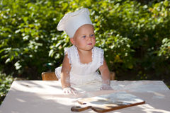 μάγειρας έτοιμος Στοκ Εικόνες