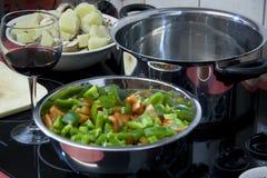 μάγειρας έτοιμος Στοκ εικόνα με δικαίωμα ελεύθερης χρήσης