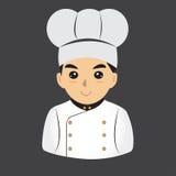 Μάγειρας αρχιμαγείρων Στοκ εικόνες με δικαίωμα ελεύθερης χρήσης