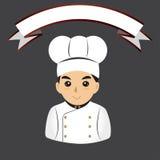 Μάγειρας αρχιμαγείρων Στοκ Εικόνες