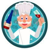 Μάγειρας γαλλικά Στοκ εικόνα με δικαίωμα ελεύθερης χρήσης