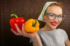 Μάγειρας γυναικών Στοκ Φωτογραφία
