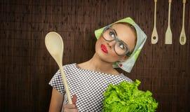 Μάγειρας γυναικών Στοκ Φωτογραφίες