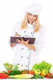 Μάγειρας γυναικών Στοκ εικόνα με δικαίωμα ελεύθερης χρήσης