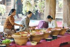 μάγειρας θηλυκός Ταϊλανδός Στοκ Εικόνα