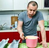0 μάγειρας και συνταγή Στοκ φωτογραφίες με δικαίωμα ελεύθερης χρήσης