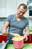 0 μάγειρας και συνταγή Στοκ Φωτογραφία