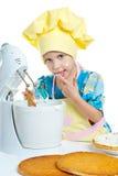 μάγειρας παιδιών στοκ εικόνα