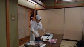 Μάγειρας σουσιών, Τόκιο, Ιαπωνία φιλμ μικρού μήκους