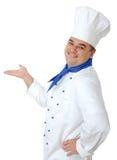 μάγειρας όμορφος Στοκ Φωτογραφίες