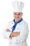 μάγειρας όμορφος Στοκ Εικόνα