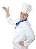 μάγειρας όμορφος Στοκ εικόνες με δικαίωμα ελεύθερης χρήσης