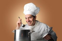 μάγειρας Στοκ Φωτογραφίες